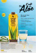 täglich ein Glas reinste Aloe Vera und du bist top fit