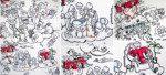 Live Illustration per Webcam - die Unternehmensleitlinien der Telekom