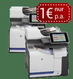 Drucker für 1€ p.a.