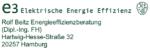 e3 – ElektrischeEnergieEffizienz, Rolf Beitz Energieeffizienzberatung